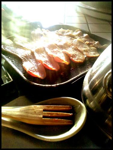 Bacon sunrise. #3, Bacon 365