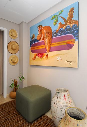 Minha pintura na Mostra