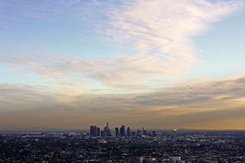 Downtown Los Angeles from Griffith Park Observatory