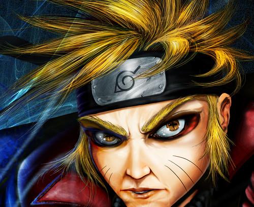 naruto sage rasengan. Sage Naruto Face Detail