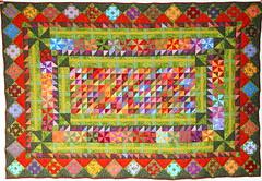 Cobertor (Facebook. decohilado@gmail.com) Tags: crazy quilt hilo seminole patchwork cinta bordado bolsos cojín cobertor encaje hechoamano macramé cojines mostacilla árbolnavideño cojinespatchwork