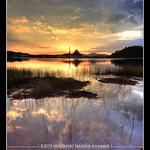 Sunset at Huffaz Lake, DQ.