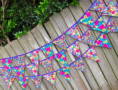 Bright & Fun (giggleberry) Tags: handmade nursery banner garland fabric etsy swag marketstall bunting bedroomdecor pennants partydecoration giggleberry customorder