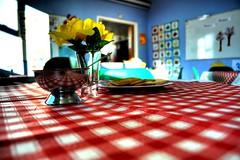 "Open Doors (Tony Shertila) Tags: red england flower church yellow chat europe cheshire tea britain drinks rest conversation methodist cloth ohhh teacakes culcheth coffemorning colorphotoaward platinumheartaward hairygitselite ""flickraward"" goldpawaward"