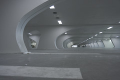 Liege Central Station Parking (Marcel Oosterwijk) Tags: station architecture modern parking trains hal centraalstation liege luik centralstation treinen parkeren parkeergarage