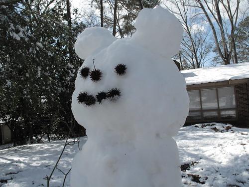 My snowman!