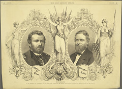 The Candidates for the Presidency and Vice Presidency of the United States (Cornell University Library) Tags: flowers portraits women spears politics illustrations dragons soldiers uniforms swords weapons shields republicannationalconvention busts chicagoillinois politicalconventions promotionalmaterials cornelluniversitylibrary culidentifier:lunafield=idnumber sheetsinformationartifacts colfaxschuyler culidentifier:value=2214pr0146 grantulyssess18221885