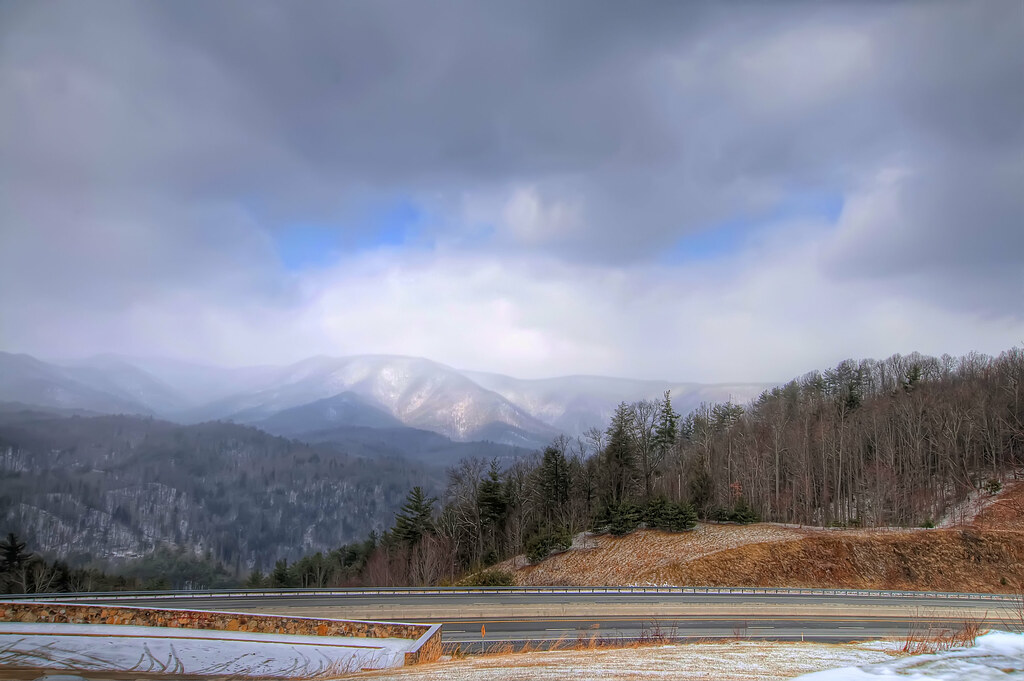 The Great Smoky Mountains of Tennessee.