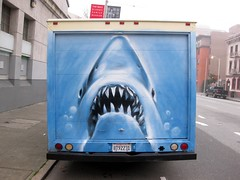 (kewlio) Tags: sanfrancisco art graffiti shark sharktoof