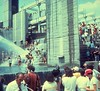 Cincinnatus Plaza 4 Jul 1976 Bicentennial Celebration (Yvonne Thompson) Tags: park plaza ohio party summer urban water fountain pool architecture swimming pond cincinnati landmark architect 1960s groupphoto 1970s july4th ohioriver cincinnatioh cincinnatiohio groupphotograph louissauer louissauerarchitect