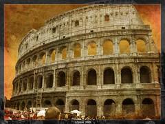 COLISEO DE ROMA.(ITALIA) (((((((-charly-)))))) Tags: roma canon atardecer italia antigua imagenes pueblos 450d platinumphoto vosplusbellesphotos