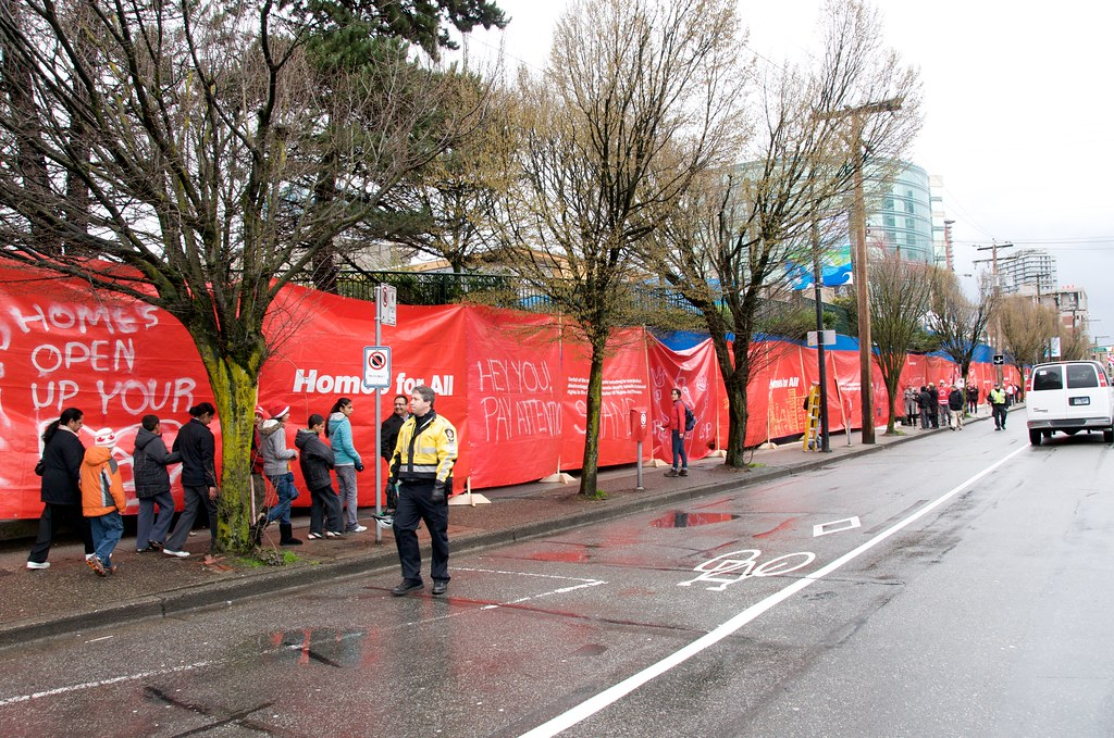 Redtents.org Homes For All Demonstration
