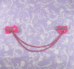 Pink Brooch1 (Sweet_Suzette) Tags: brooch lolita sweetlolita sweetsuzette