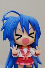 Nendoroid Konata (Chi (in Oz)) Tags: gsc izumi luckystar 泉 konata goodsmile nendoroid らき☆すた こなた ねんどろいど 公式ホームページver