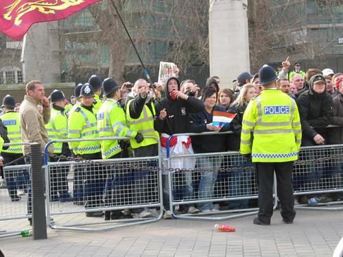 EDL protestors 5104