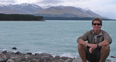Greg with Lake Pukaki Behind
