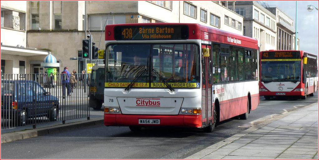 Plymouth Citybus 078 WA54JWD
