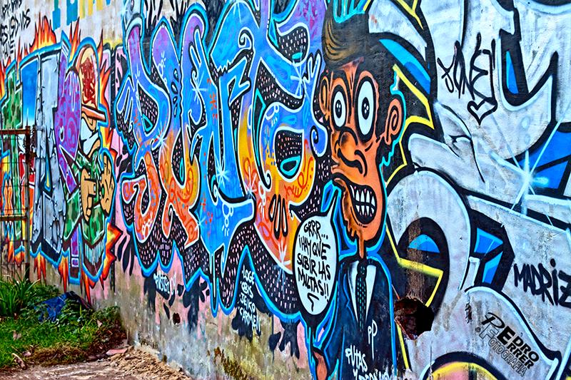 Graffittis en el Seminario - Hay que subir las multas