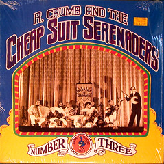 robert crumb and the cheap suit serenaders 3 (adrian's page too) Tags: vinyl robertcrumb recordalbumcover