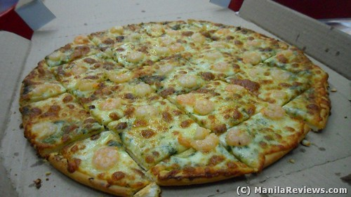 Angel's Pizza Shrimp Pesto Flavor