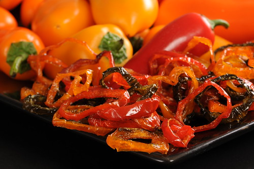 Assorted Roasted Pepper Rings