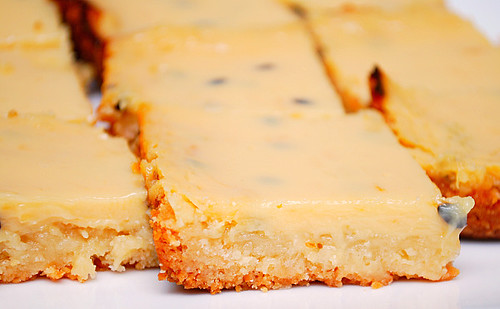 "What's Cookin, Chicago?: Passion Fruit ""Slice"" Bars"