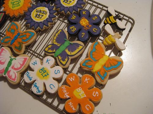 Detail #2 of Spring cookies