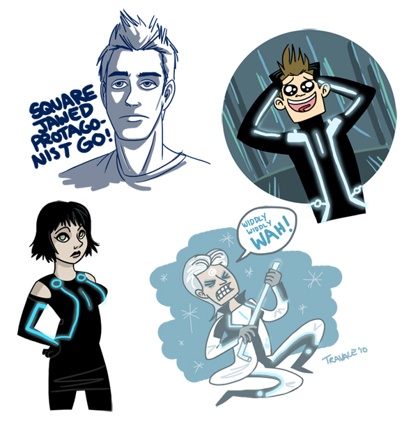 Tron sketches
