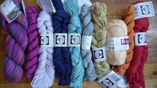 Latest yarn shipment