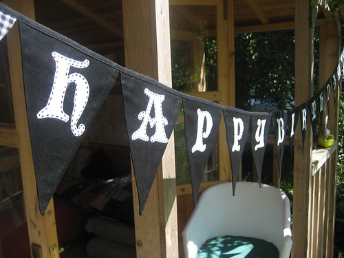 Pirate Happy Birthday Bunting