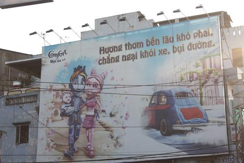 Cute Vietnamese advertising