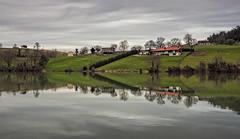 The other riverside (Azdoe.) Tags: lake reflection film water rio canon river solares landscape lago interesting agua nikon awesome 7d reflejo epson santander cantabria heras canon7d mediocudeyo sobremazas