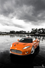 Aileron (Stephan Bauer) Tags: orange wet rain clouds florida miami exotic bauer stephan supercar spyker aileron worldcars