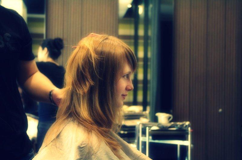老婆理髮趣~