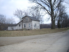 80 Litchfield - Abandoned House (Rural Michigan Architecture) Tags: old houses homes house west abandoned home architecture farmhouse rural america midwest michigan farm country abandon american mid abandonment dilapidated farmhouses