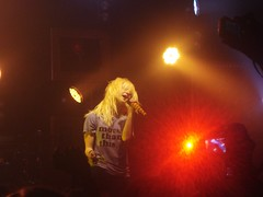 """Hayley Williams (blonde hair) - """"More Than This"""" - Paramore BRAND NEW EYES (punxie89) Tags: show toronto ontario canada rock hair concert punk tour williams live pop josh blond blonde koolhaus hayley farro paramore hayleywilliams brandneweyes"""