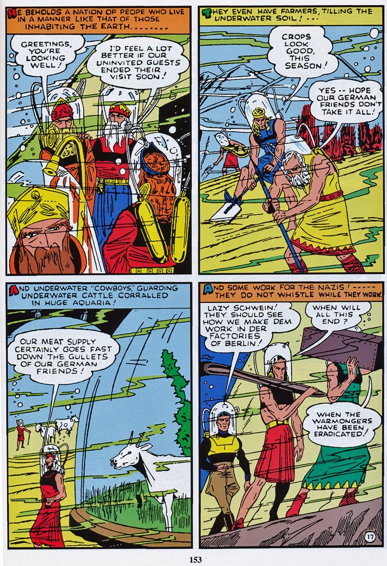 Sub-Mariner Comics No 3 - Underwater Druids work for the Nazis
