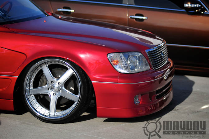 As always, wheel fitment for team RE is always on point.