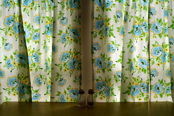 Kitschy Kitchen Curtains