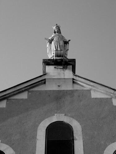 église de la médaille - vierge