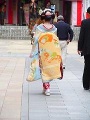 2010 Japan trip 105 (dan carrick) Tags: maiko miyagawacho kaburenjo naokazu