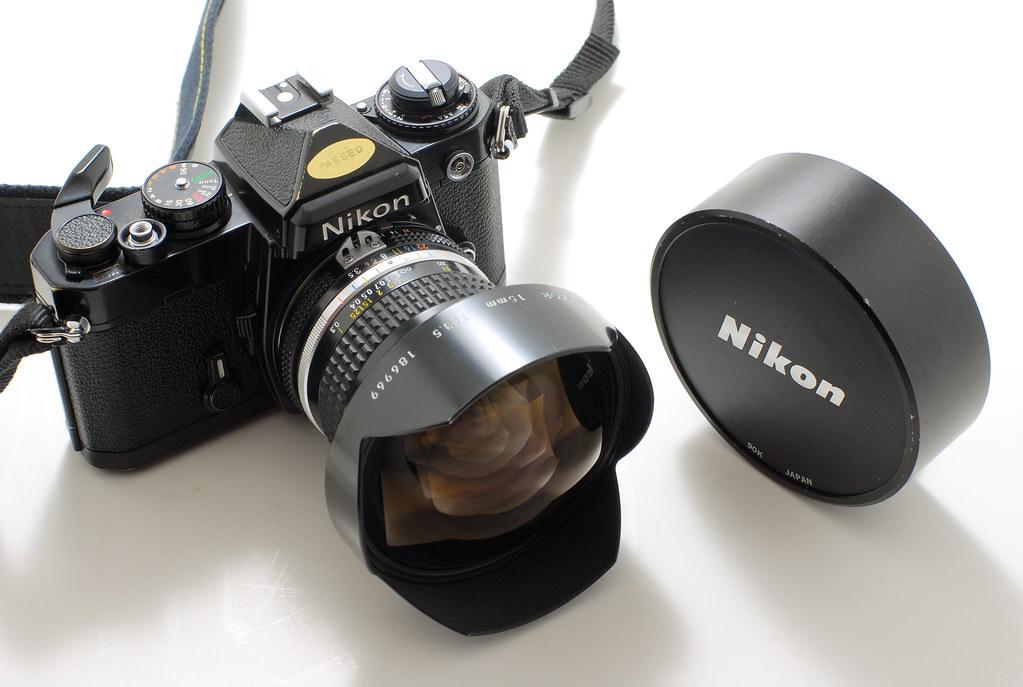 Nikon FE and 15mm f3.5 AI I