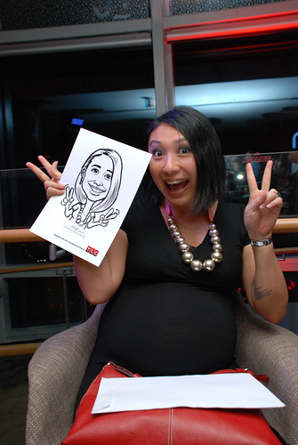 Caricature live sketching for TLC - 28