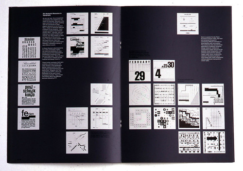 Spread of the fourth issue of Octavo (1987).