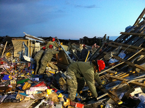Joplin Tornado Response by The National Guard