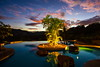 Shine a little light (stevenbulman44) Tags: pool costarica playadelcoco canon evening sunset color landscape 1740f40l outdoor holiday light tripod