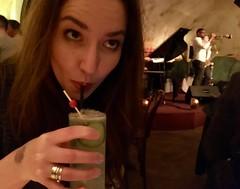 Cocktails and jazz at The Django.
