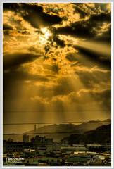 (Datong Hill Sunset ) (nans0410(busy)) Tags: nikon nikkor  hdr godlight   d90  nd8