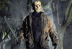 Jason Vorhees from Friday the 13th horror movie icon