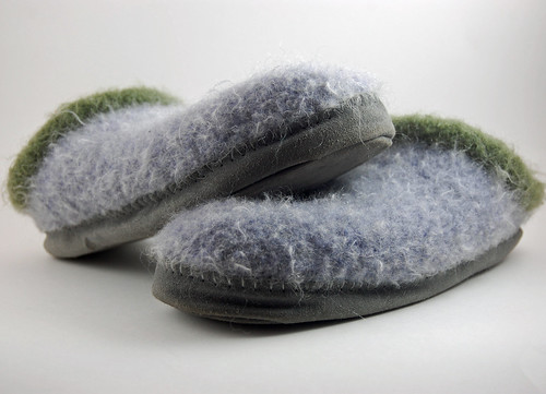 Rykert's Slippers - finished